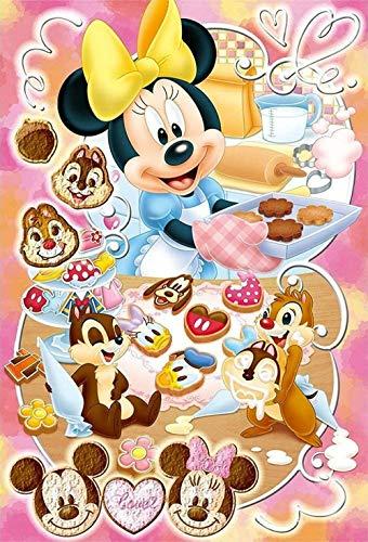 qfafz 5D DIY Diamante Pintura Conjunto Mickey Mouse Cocina Punto De Cruz Resina Completa Decoración del Hogar Niños Regalo 40X50 Cm