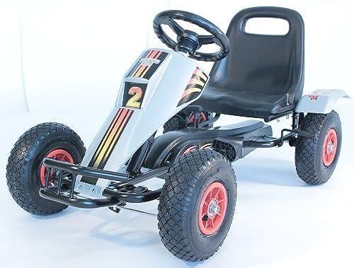 Max Terrain Racing Kart - Go Karts - Aufsitz-Spielzeug - Go Karts - Spielzeug für Draußen - Ideal für Extreme Ofüroad Kartsport - Bikes Trikes & Ride-ons - Pedal Spielzeug
