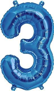 """NorthStar Blue Number 3, 16"""""""
