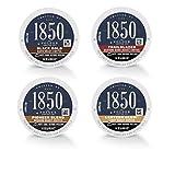 1850 K-Cup Variety Pack: Black Gold (Dark Roast), Trailblazer (Medium-Dark Roast), Pioneer Blend (Medium Roast), Lantern Glow (Light Roast), Coffee, K-Cup Pods for Keurig Brewers, 40 Count (Pack of 4)