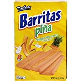 Marinela Barritas Pina Pineapple Filled Cookie Bars, Individually Wrapped, 8 count