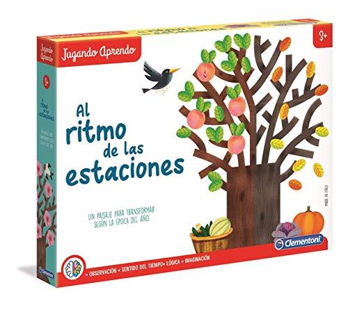 Clementoni-55362 - Al Ritmo de las Estaciones - juego educativo a partir de 3 años