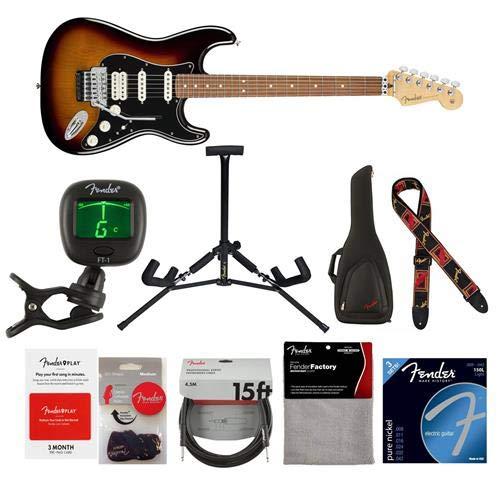 Cheap Fender Player Stratocaster HSS Floyd Rose Electric Guitar 22 Frets Modern