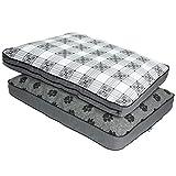 MyPillow Dog Bed - Medium, Gray