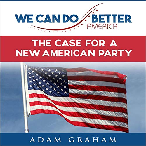We Can Do Better, America audiobook cover art