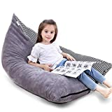 Stuffed Animal Storage Bean Bag Chair | 53' Extra Large Beanbag Cover for Kids and Adults, Plush Toys Holder and Organizer for Boys and Girls | Premium Velvet - Soft & Comfortable
