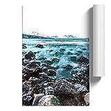 BIG Box Art The Shoreline of Lanzarote in Spanien Poster