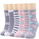 Calcetines de invierno mullidos para mujeres y niñas, cálidos, suaves, gruesos, para dormir, estar en casa