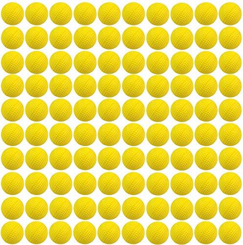 Yosoo - 100 pelotas de recarga compatible con Nerf Rival Zeus MXV-1200Apollo XV-700Blaster