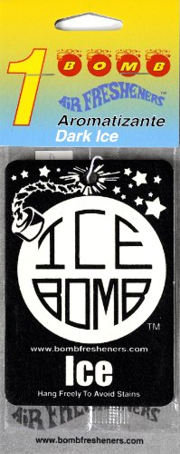 Ice Bomb Air Freshener 24 Pack with Header Cards