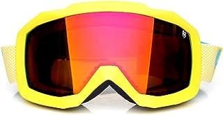 Snowboard Ski Goggles Double Layers Goggles Glasses for Skiing 400 Protection Snow Ski Glasses Anti-Fog Ski Mask,5 Dear-You