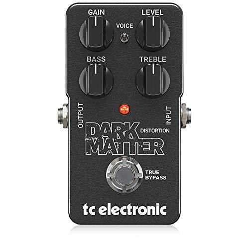 TC Electronic DARK MATTER DISTORTION Pedal de distorsion, 2 band Eq