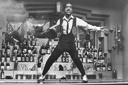 Robin and the Seven Hoods Sammy Davis Jr 24x36inch (60x91cm) Poster sul bar top con macchina...
