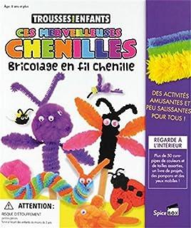 Ces Merveilleuses Chenilles: Bricolage en fil chenille (Trousses Pour Enfants)