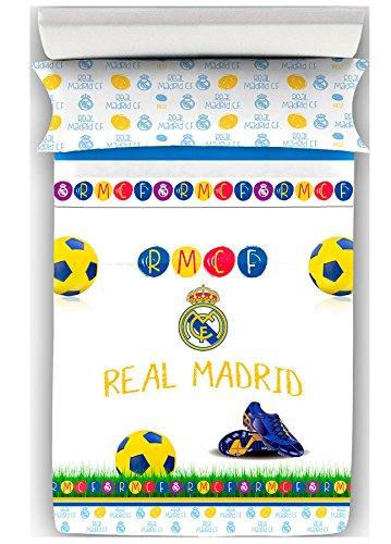 Juego de Sábanas del Real Madrid Decora Kids cama 90cm.