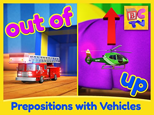 Find the Vehicles - Learning English Prepositions for Kids
