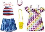 Barbie Flower Power | 2 Moda Set Mattel GRC91 | Ropa de la Muñeca