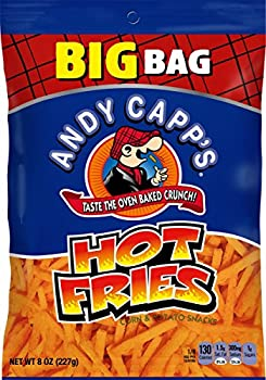 8-Pack Andy Capp's Big Bag Hot Fries, 8 oz