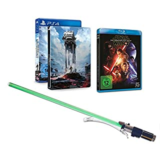 Star Wars Battlefront - Steelbook Edition inkl. Lichtschwert Yoda +  Star Wars: Das Erwachen der Macht (inkl. Bonusdisc) [Blu-ray] (B01EWSGGM6) | Amazon price tracker / tracking, Amazon price history charts, Amazon price watches, Amazon price drop alerts