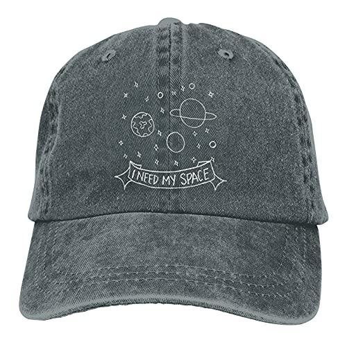 Jopath I Need My Space-4 Hats,Gorra de béisbol ajustable al aire libre gorra de camionero, ^^, Talla única