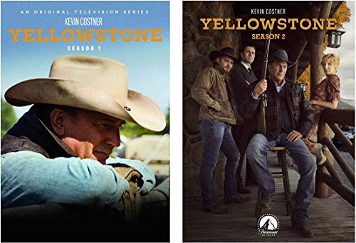 Yellowstone Season 1 and 2 DVD Set
