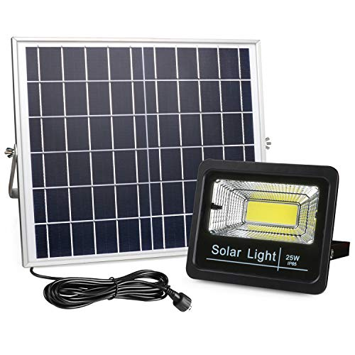 New Version Solar Flood Lights Outdoor Dusk...