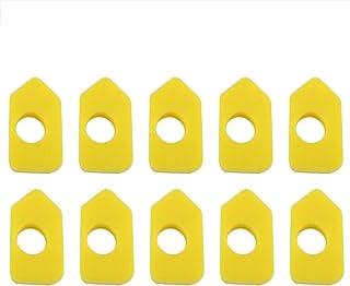 Filtro de Aire,10 piezas filtros de Aire de Espuma Amarilla de Repuesto para Briggs & Stratton 986434