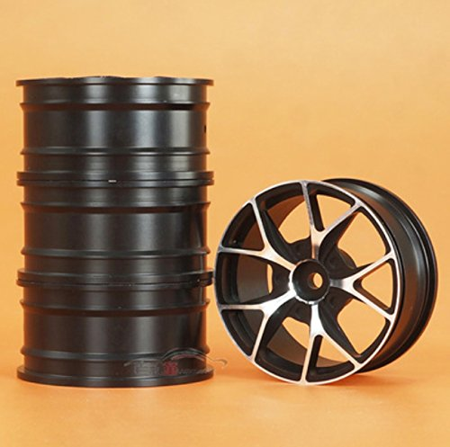 Junsi 1/10 Scale Auminum Alloy Wheel Rim 054A for RC On Road Drift Rally Cars HSP94123
