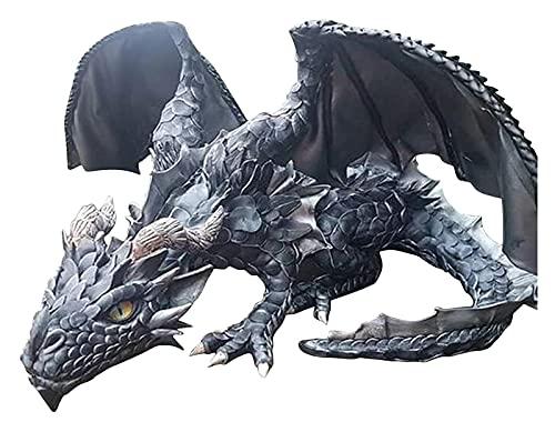 Dragón Estatua Escultura Hecha a Mano Resina decoración figurilla Arte Ilustraciones dragón for Adornos for el hogar