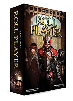 Thunderworks Games Roll Player Strategy Boxed Board Game Ages 12 & Up Multi-Colored  twk2000