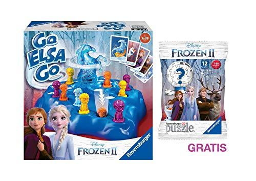 Ravensburger Frozen 2: Go ELSA Go + GRATIS 3D Puzzle-Ball (ab 4 Jahren)
