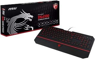(Renewed) MSI Interceptor DS4100 Gaming Keyboard
