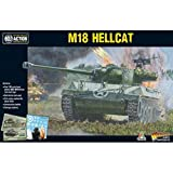 Bolt Action M18 Hellcat Tank Destroyer 1:56 WWII Military Wargaming Plastic Model Kit