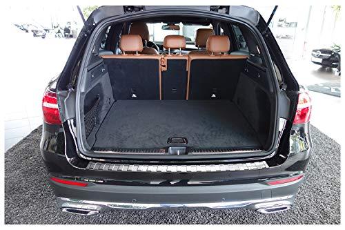 Preisvergleich Produktbild tuning-art L190 Edelstahl Ladekantenschutz mit Abkantung Fahrzeugspezifisch