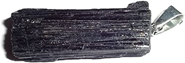 black tourmaline with mica jewelry