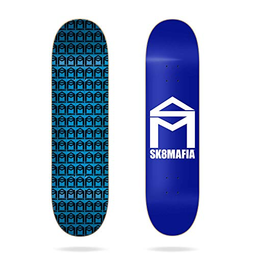 Sk8mafia Skateboard House Logo Royal Mini 7.25 inch