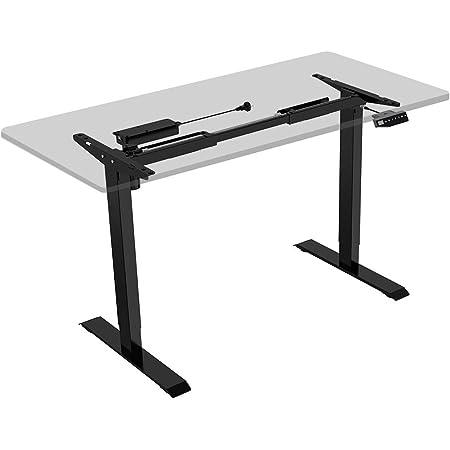 FLEXISPOT Height Adjustable Desk Frame Electric Sit Stand Desk Base Home Office Stand up Desk (Black Frame): Amazon.in: Electronics
