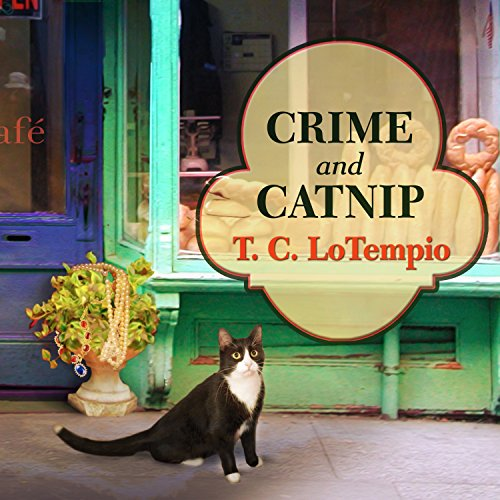 Crime and Catnip audiobook cover art
