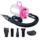 SHELANDY 3.2HP Stepless Adjustable Speed Pet Hair Force Dryer Dog...