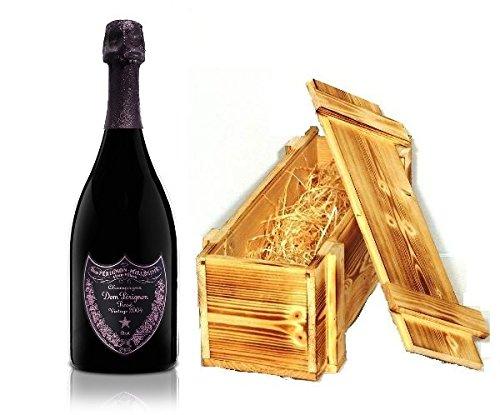 Dom Perignon Rosé Vintage 2004 Champagner in Holzkiste geflammt 12.5 % 0.75l Flasche