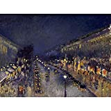 Wee Blue Coo Painting Cityscape Pissarro Boulevard