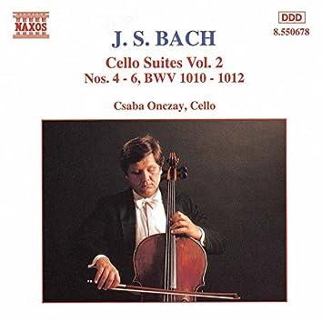 Bach, J.S.: Cello Suites Nos. 4-6, Bwv 1010-1012