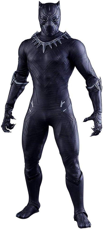 alta calidad Ldwxxx Avengers Panther Cloth Modelo Movable Modelo Modelo Modelo Estatua 30 cm Anime Decoración  en stock