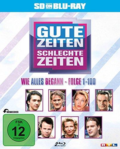 Gute Zeiten - Schlechte Zeiten - Vol.1/Folge 1-100 (zum 25jährigen Jubiläum) (SD on Blu-ray) [Alemania] [Blu-ray]