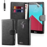 32nd Book Wallet PU Leather Flip Case Cover For LG G4,