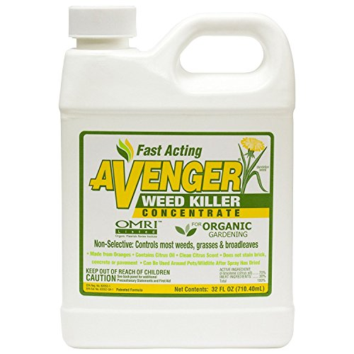 Avenger Organics Weed Killer Concentrate 2-Pack / 32 Ounces Each