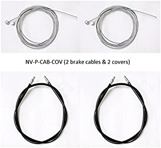 Nova Medical Products Brake Cables with Covers: Nova Rolling Walkers (54