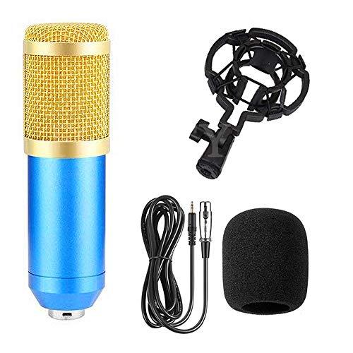 JVCAN Condensator geluidsopname microfoon, BM 800 microfoon voor radio zingen Live opname KTV Karaoke