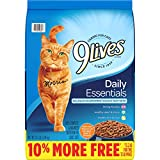 9Lives Daily Essentials Salmon, Chicken & Beef Dry Cat Food, 13.2 Pounds