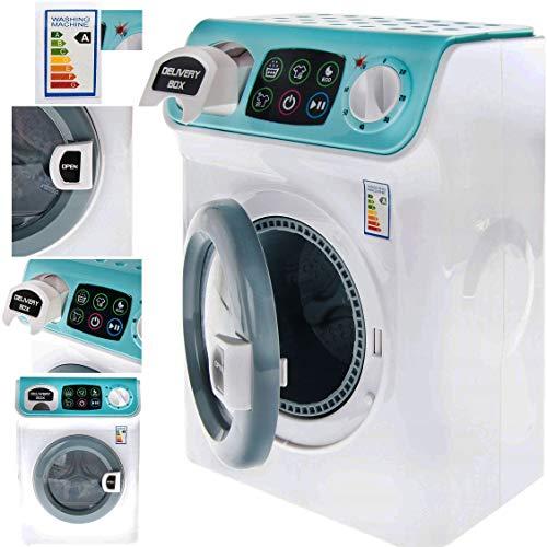 My Sweet Home Spielküche mit Geräusch und Zubehör, Spielzeug (Kinder Waschmaschine) Waschmaschine